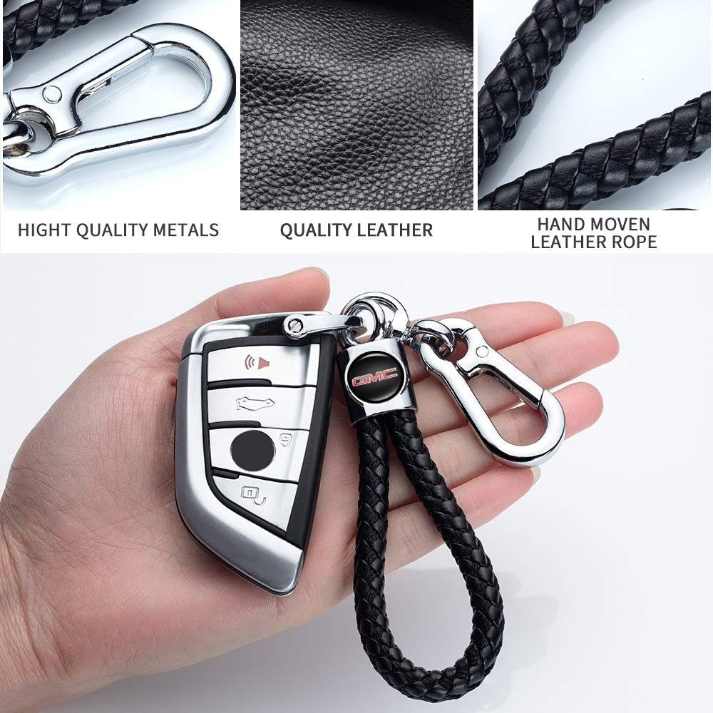 Longzheyu for Lexus Key Chain Accessories Keyring Genuine Leather Car Logo Keychain for Men and Woman with Logo