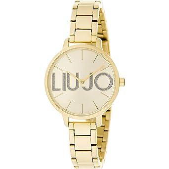 Liu Jo - Reloj sólo con la hora, para mujer, estilo moderno couple, cód. TLJ1289: Amazon.es: Relojes