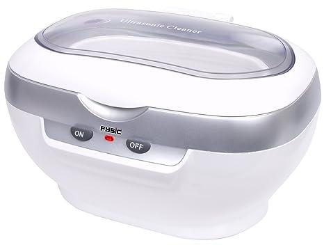 Fysic FC-33 Ultraschallreinigungsgerät mit herausnehmbarem Korb besonders gründliche und hygienische Reinigung in 3 Minuten,