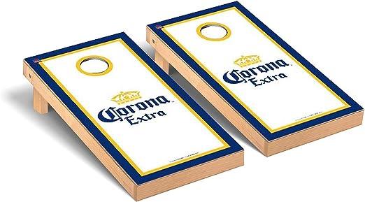 Details about  /Corona Cornhole 10 Piece Set