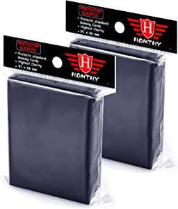 200 Counts Trading Card Sleeves Protectors, Top Loaders Penny Sleeves Fit for Pokemon, MTG and Yugioh Card Protection and Collection