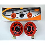 Roots Spider Eco Horn Pair (12V, Red)