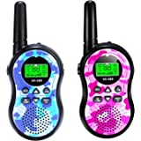 SeaMeng walkie talkies for Kids,22 Channel 2 Way Radio 3 Mile Long Range,Best Gifts for Boys Girls Age 3-12,Outdoor Adventures Camping Hiking