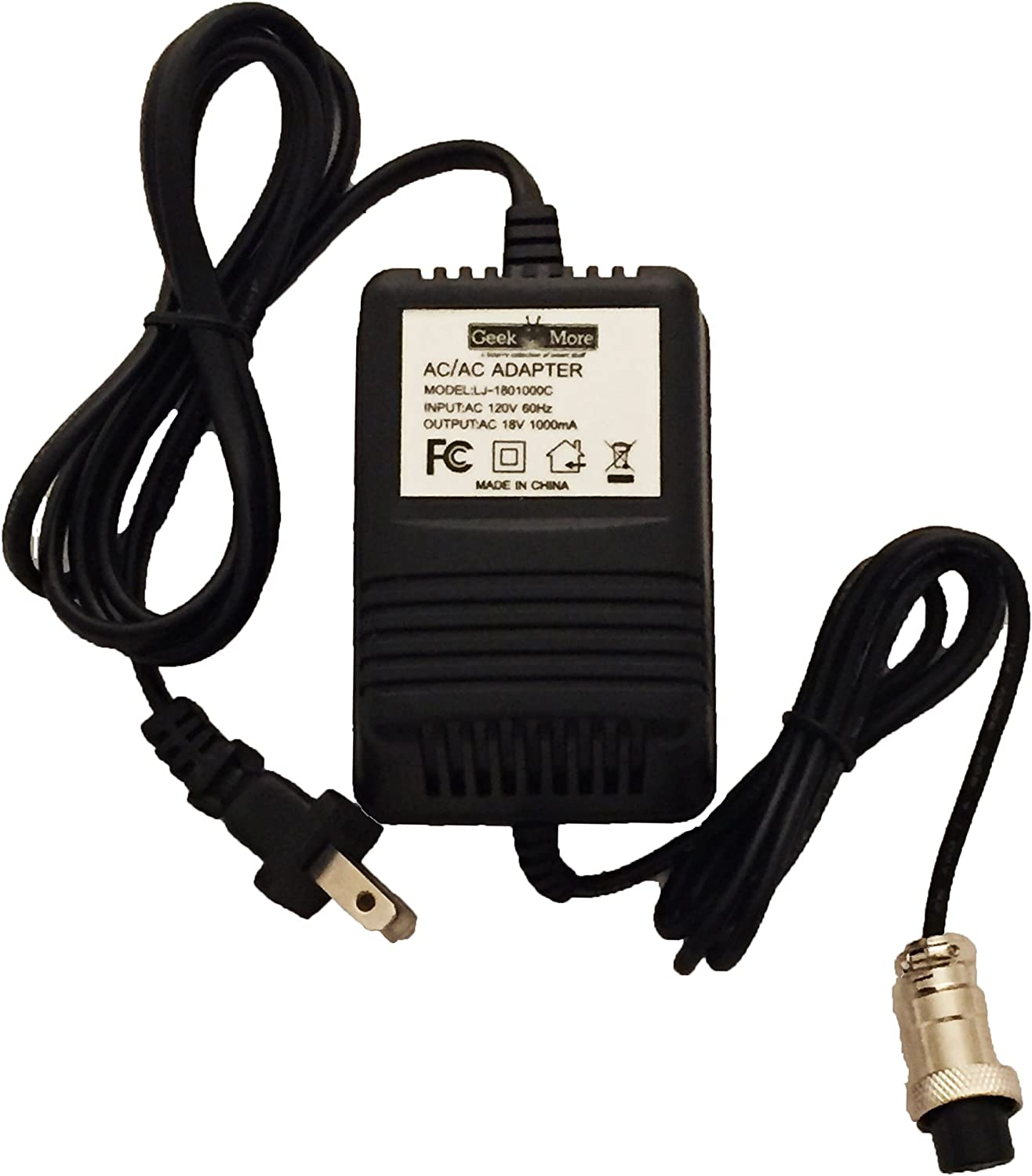 16 Replacement Power Supply Alesis MultiMix 6 FX//USB 8 FX//USB 12 FX//FXD//USB