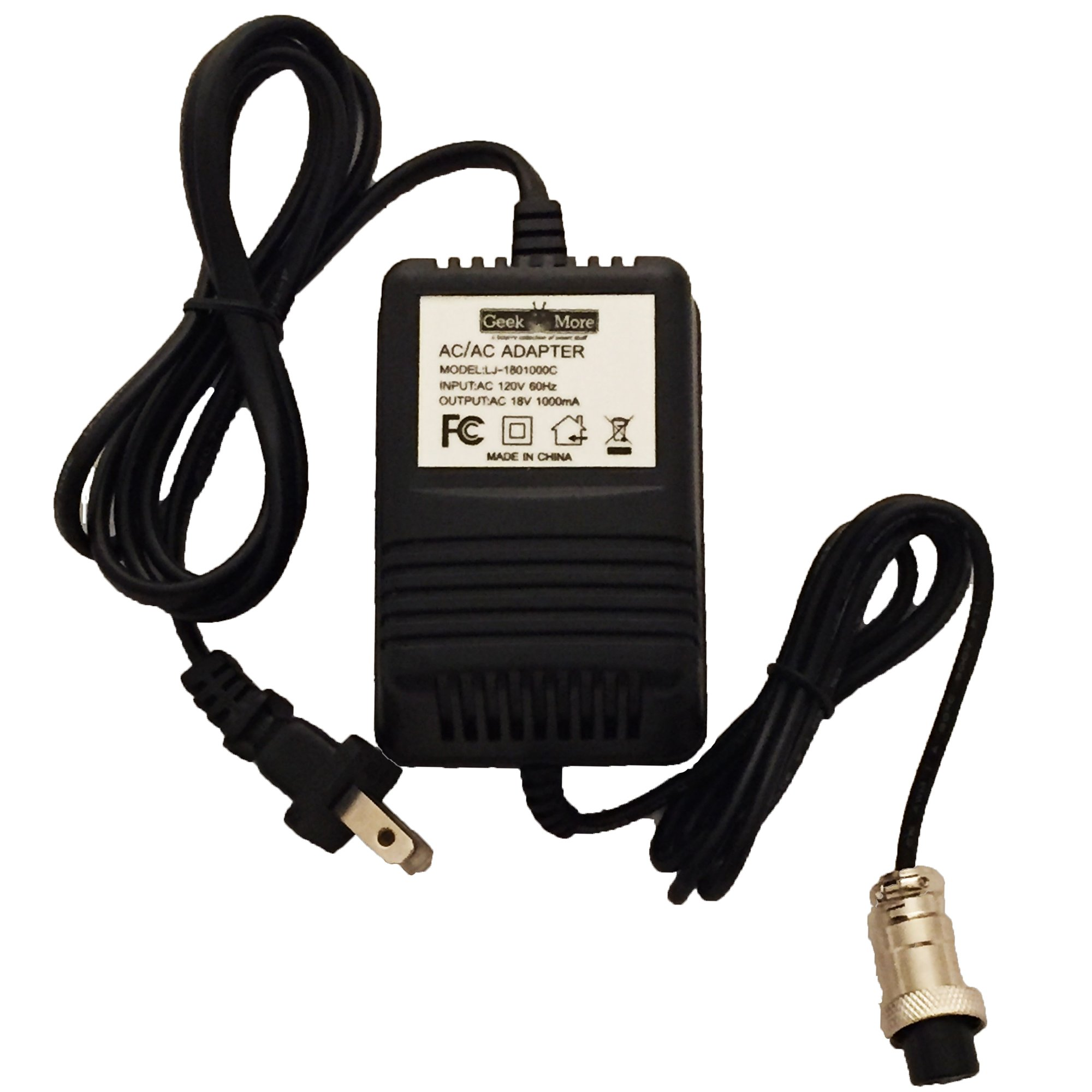 AC Power Adapter - for Alesis MultiMix 6 FX/USB, 8 FX/USB, 12 FX/FXD/USB units