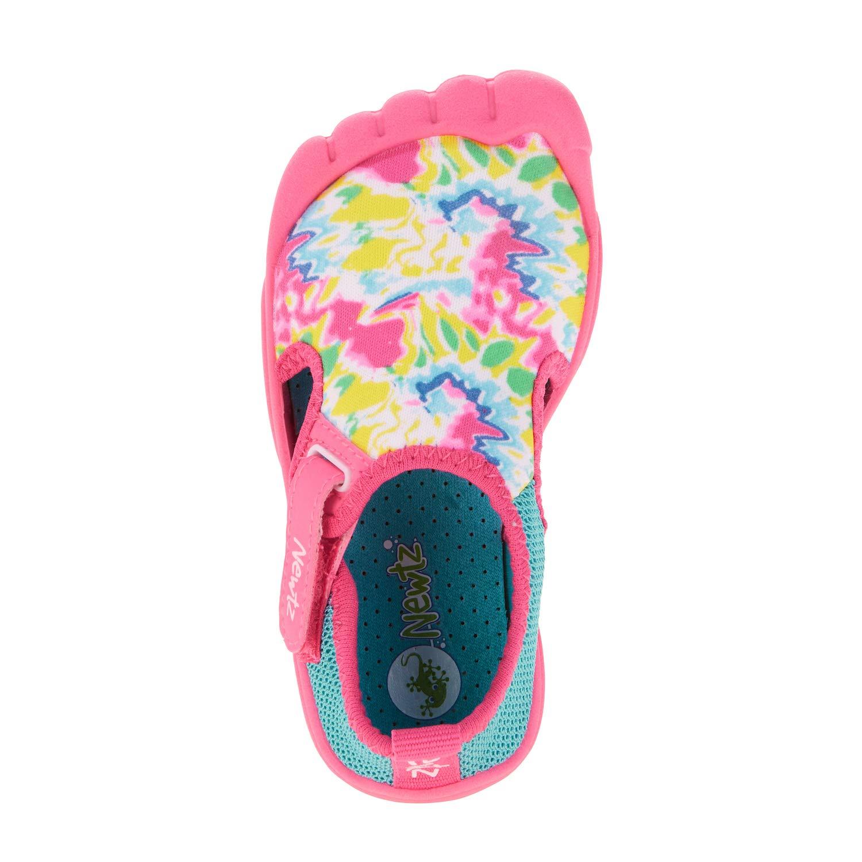 Newtz Navy Seal Tie Dye Print Kids Water Shoes NTZTD4PNK