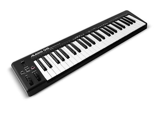 25 opinioni per Alesis Q49 Tastiera Controller USB MIDI con 49 Tasti Sensibili alla Dinamica +