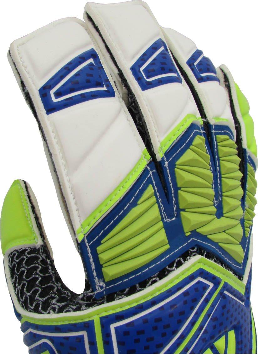 Gk Glove Size Blue//Green//White Vizari Cruz F.P 7 Vizari Soccer 80085-7