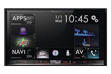 Pioneer AVIC-F60DAB - Sistema de navegación GPS con CD/DVD (Bluetooth,