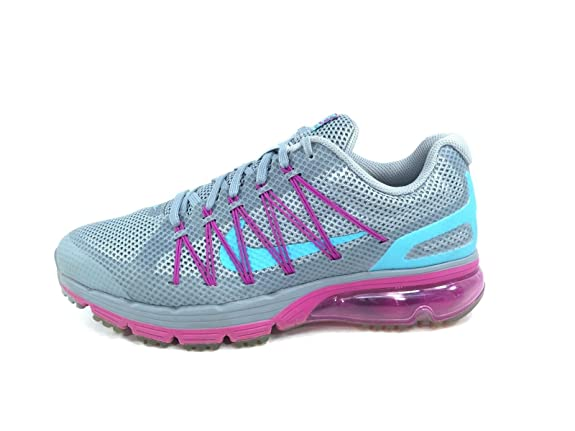 Amazon.com | Nike Air Max Excellerate 3 703073-046 Grey/clearwater/fuchsia  Flash Women Shoes Sz 7.5 | Fashion Sneakers