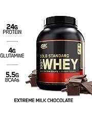 Optimum Nutrition 100% Whey Protéine Gold Standard, Chocolat au Lait, Whey Isolate, 2,27 kg