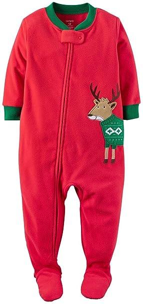 De Carter bebé Boys   - Forro Polar Navidad Pjs  Amazon.es  Ropa y  accesorios 087b797aaa5