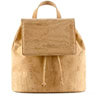 Corkor Cork Backpack - Vegan Handbag For Women Top Flap Back Pack Travel School