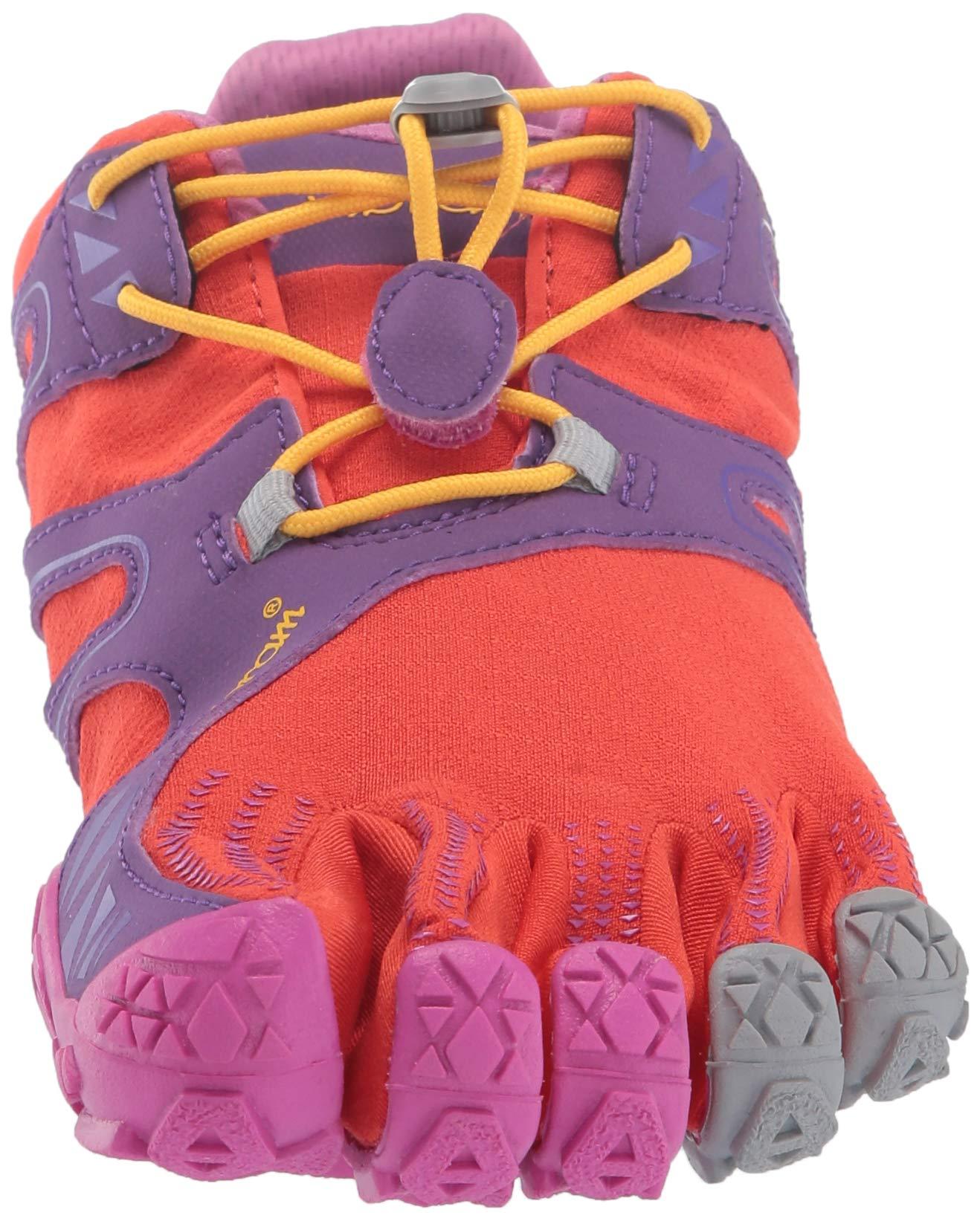 Vibram FiveFingers V-Trail, Women's Trail Running Shoes, Orange (Magenta/Orange), 6-6.5 UK (38 EU) by Vibram (Image #4)