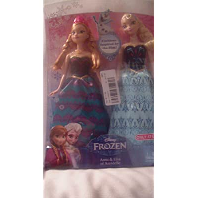 Disney Frozen Anna & Elsa Fashion Doll 2-Pack Limited Distribution: Toys & Games