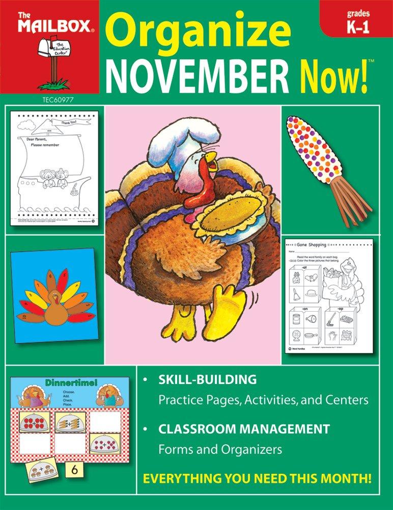 Organize November Now! (Grs. K-1) pdf