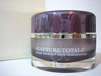 b540ce8f4d Christian Dior Capture Totale Nuit Intensive Night Restorative Rich Creme  50 ml / 1.7 oz Normal to Dry Skin
