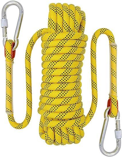 THZCMY Cuerda de Escalada estática de 20 m, Cuerda de ...