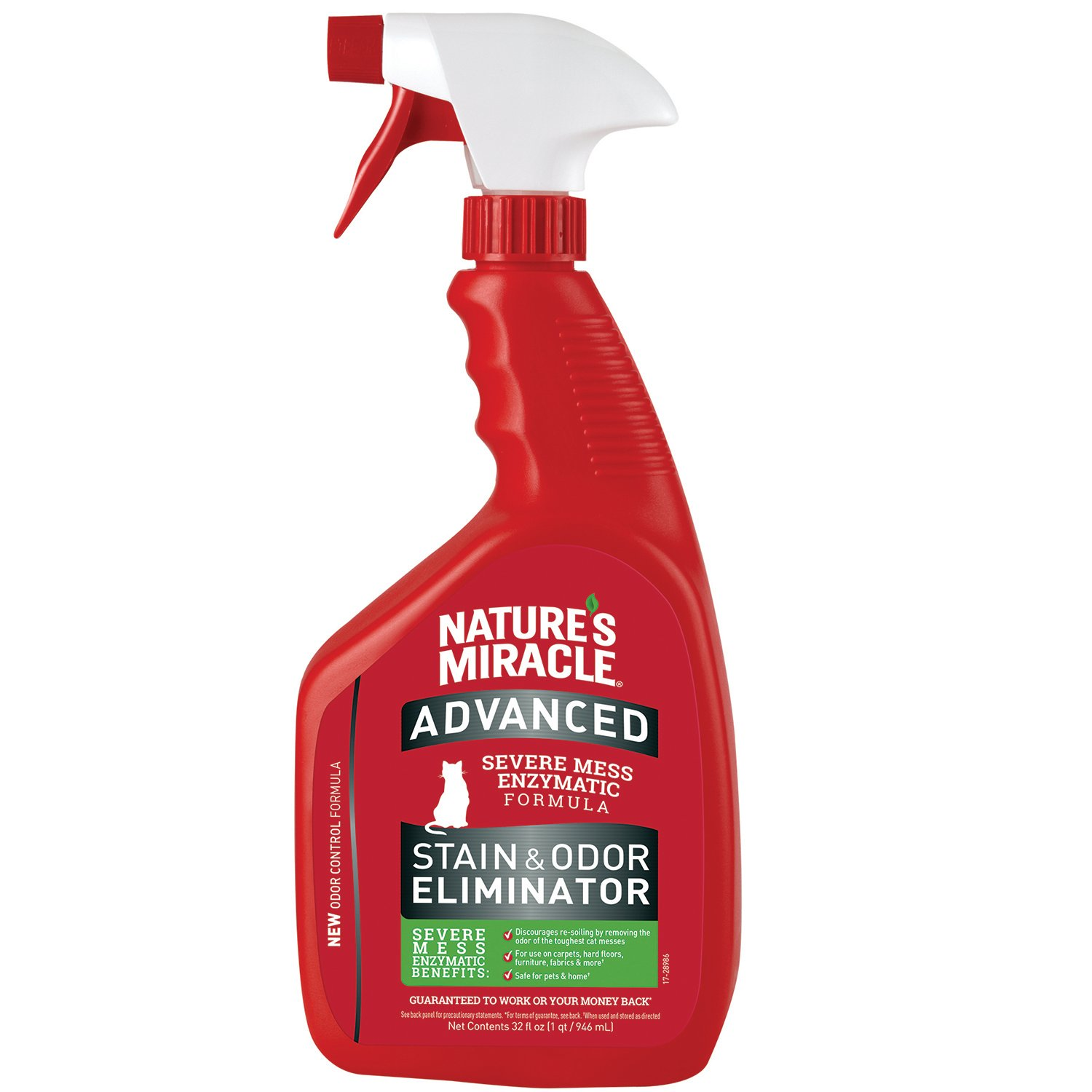 Nature's Miracle Advanced Stain and Odor Eliminator Cat, For Severe Cat Messes by Nature's Miracle