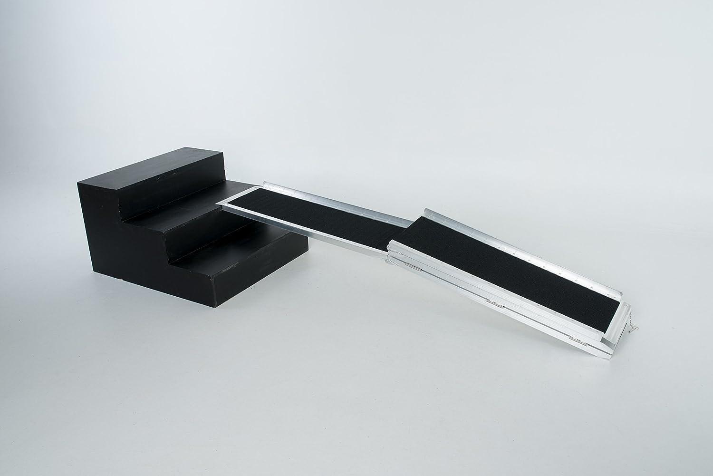 Fabbricante Worhan GmbH RAMPA Antisdrucciolo CARICO A Valigia in Alluminio Max 272 kg per Sedia A ROTELLE Grande Selezione 183cm R6J WORHAN