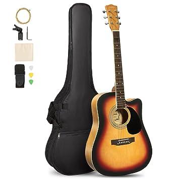 Amazon.com: Artall - Kit de guitarra acústica de 39/41 ...