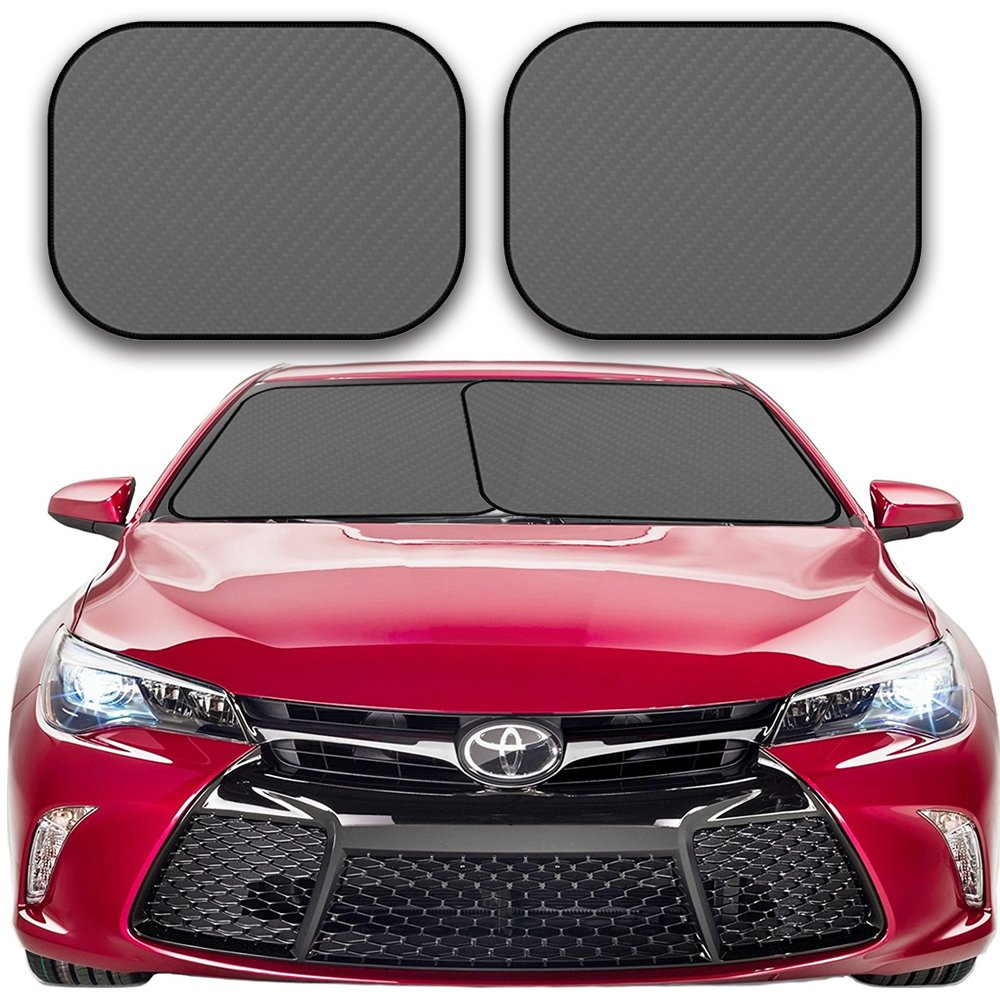 Large kinder Fluff Car Windshield sunshade-210T for Ultimate uv//Sun Protection for car