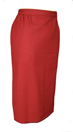 Amazon Com Austin Reed Burton Skirt Women S Petites Red Clothing