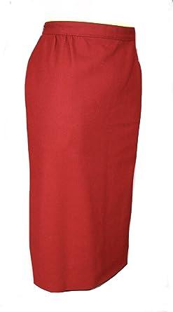 Amazon Com Austin Reed Burton Skirt Women S Petites Red Clothing