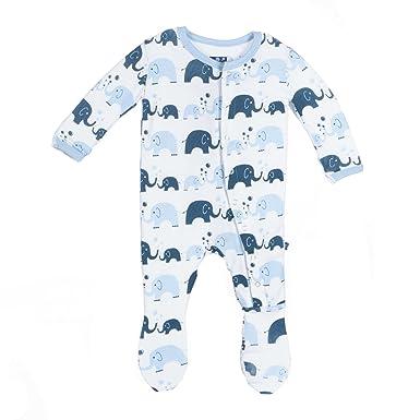 30fd6627a264 Amazon.com  Kickee Pants Baby Girls  Print Footie Prd-kpf173s16d2 ...