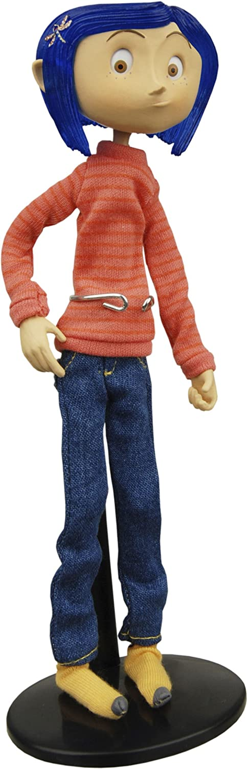 Amazon Com Neca Coraline Bendy Doll In Casual Outfit Toys Games