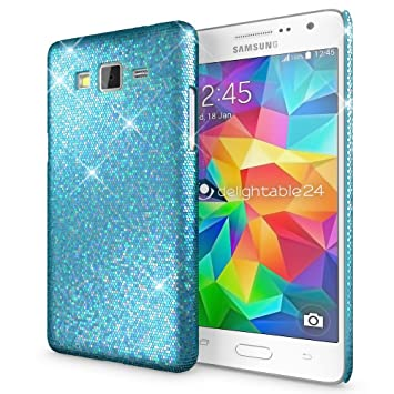 NALIA Funda Compatible con Samsung Galaxy Grand Prime, Purpurina Carcasa Movil Protectora Cubierta Delgado Glitter Star Hard-Case, Ultra-Fina Phone ...