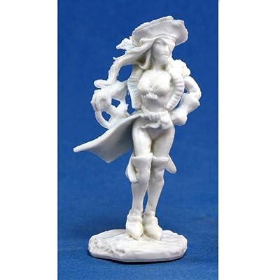 Reaper Mariel Twinspar, Female Pirate (1) Miniature: Toys & Games