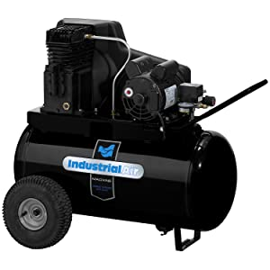 Industrial Air IPA1882054 20-Gallon Belt Driven Air Compressor with Twin Cylinder