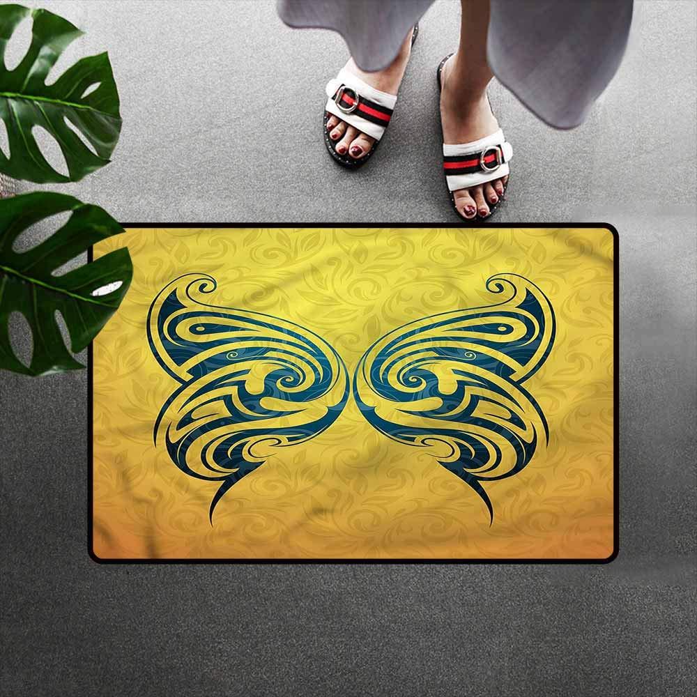 Amazon.com: Homedd Felpudo para mascota, diseño de tribu de ...