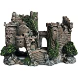 SLOCME Aquarium Ornaments Resin Castle Decorations - Fish Tank Supplies Accessories,Eco-Friendly Fish Tank Castle…
