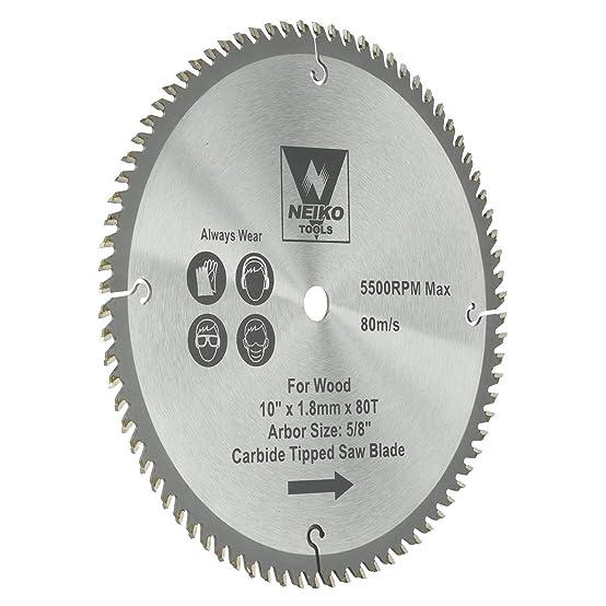 carbide tipped saw blades. neiko tools usa 10\ carbide tipped saw blades