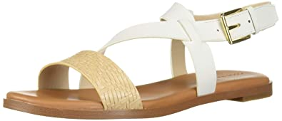 891f5a7bc83 Amazon.com  Cole Haan Women s Findra Strappy Sandal Ii Flat  Shoes