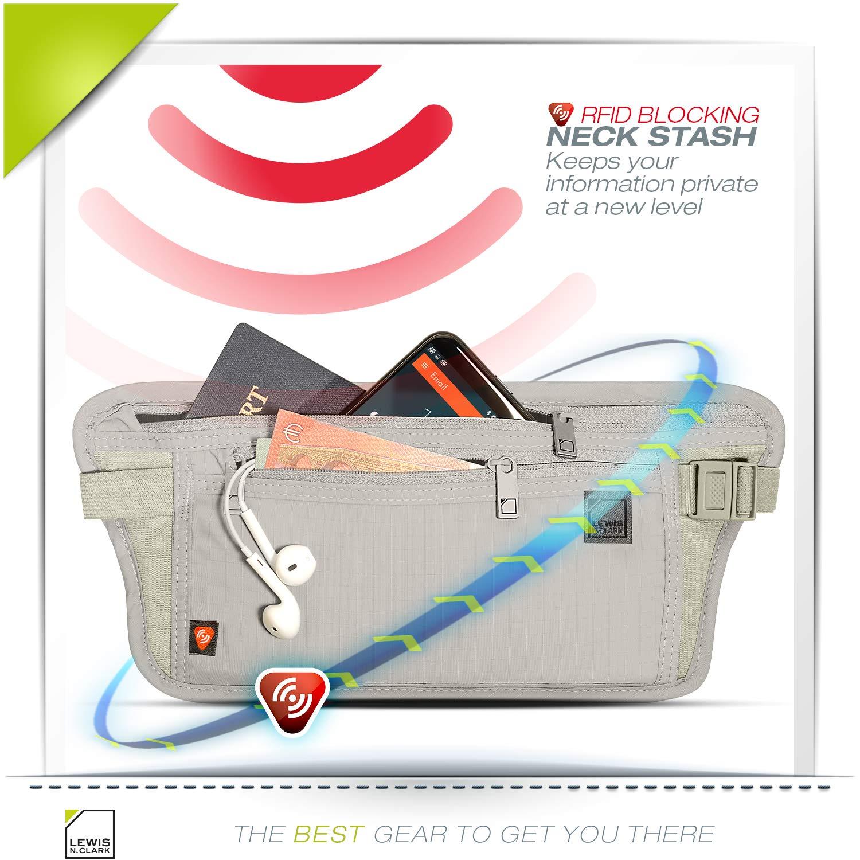 Amazon.com: Lewis N. Clark RFID - Cinturón), 1268: Lewis N ...