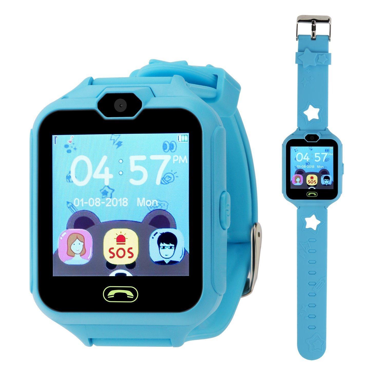 Reloj Smartwatch Niños Relojes Inteligentes Niños Teléfono Relojes de Juegos Inteligentes para Niños, Niños Juegos de Cámara SmartWatch Pantalla ...