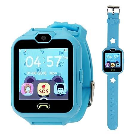 Hangang SmartWatch Reloj Kids Teléfono Smart Game Relojes para Niños, Kid SmartWatch Juegos Touch Screen