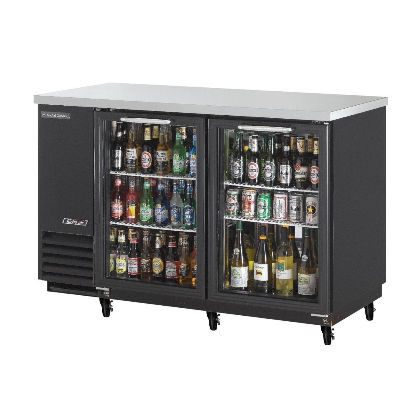 Amazon.com: Turbo Air TBB 2SG 58in 2 Glass Door Back Bar Cooler: Appliances