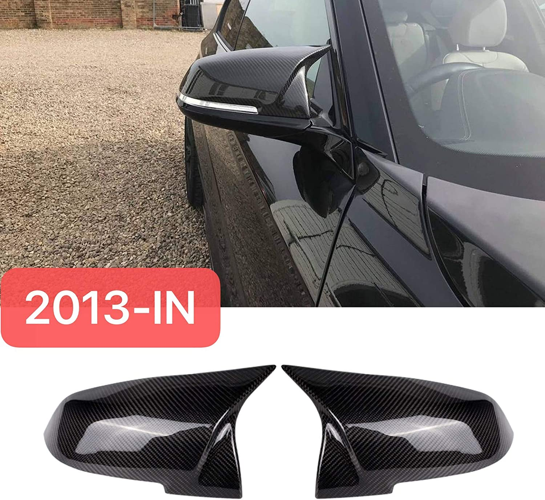 Mosion Auto F20 F21 F22 M2 F30 F31 F32 F33 F36 X1 Mirror Cover,Carbon Fiber M Look for BMW