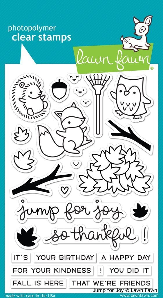 Lawn Fawn Clear Stamps - Jump For Joy (LF1212)