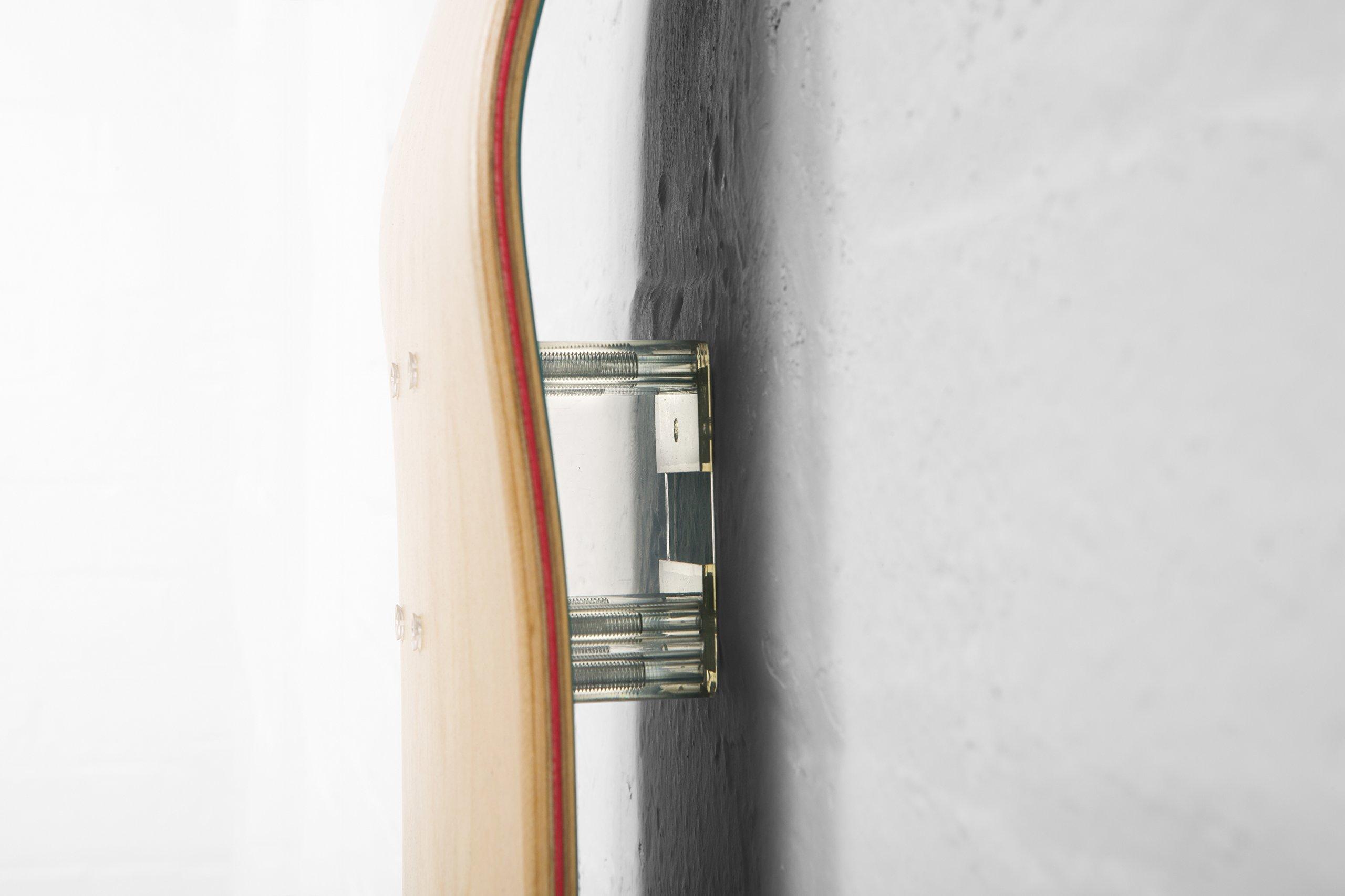 Deck Block Skateboard Deck Wall Mount System - Twin Pack