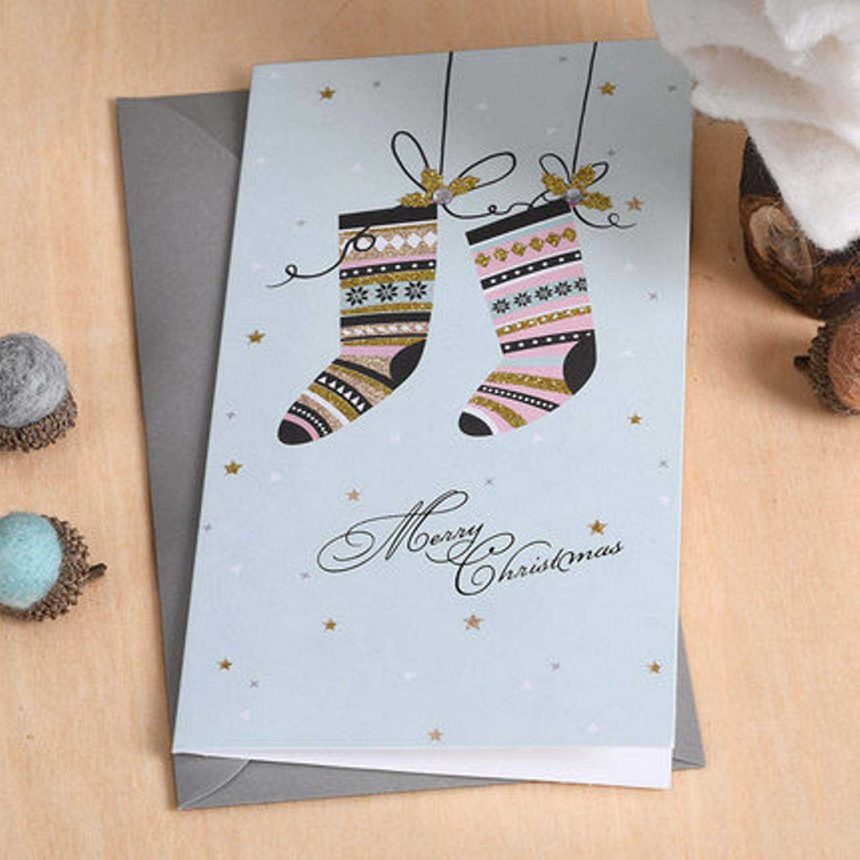 Amazon Jewh Business Christmas Card Paper Kraft Christmas Card