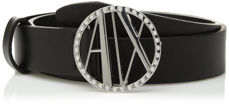 A|X Armani Exchange Women's Split Leather Belt 9410408P061