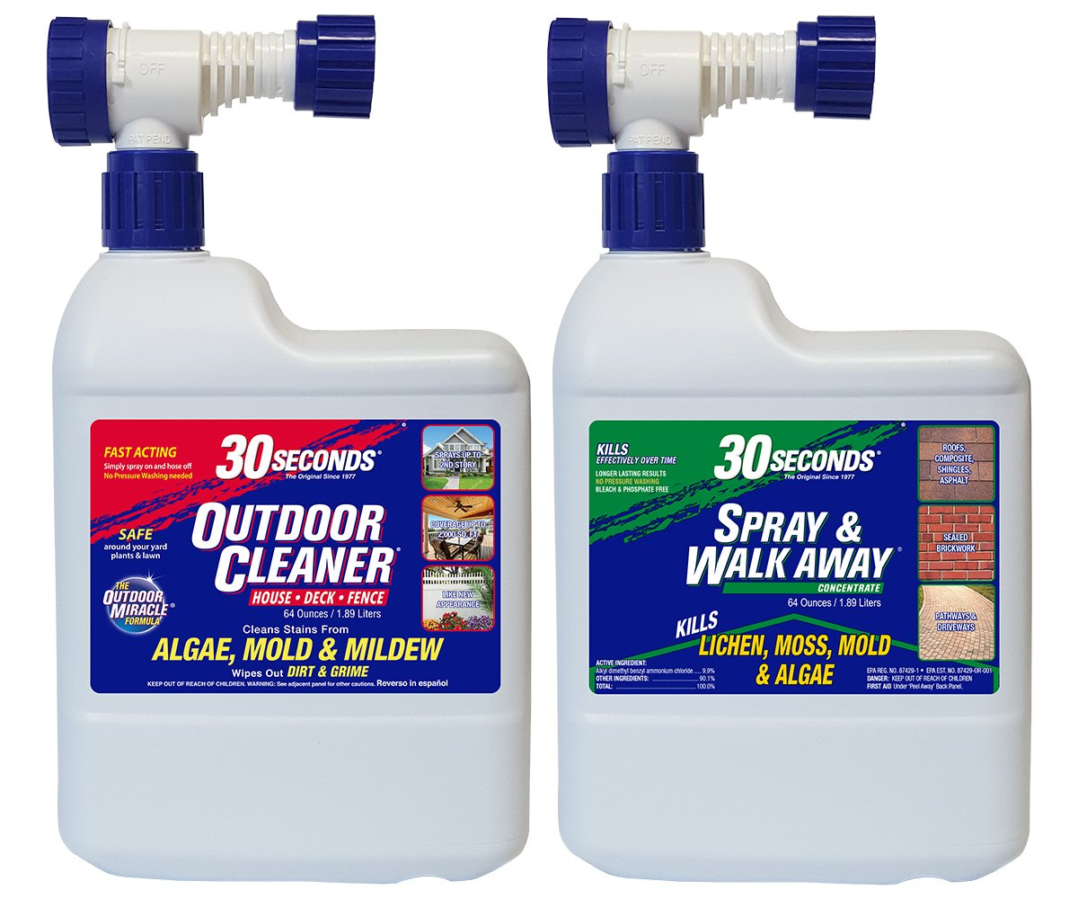 30 SECONDS Cleaners 6430S/64SAWA Outdoor Cleaner Combo