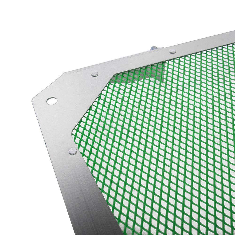 UltraSupplier Radiator Guard Grill Cover Mesh Protector for 2012-2018 Kawasaki Versys 1000 Green