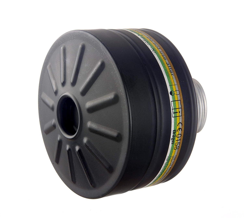 Compatible avec Dr/äger CDR 4500 Plus Haute Classe de Protection Dr/äger Filtre de Protection Civile A2B2E2K2 P3 R D//NBC