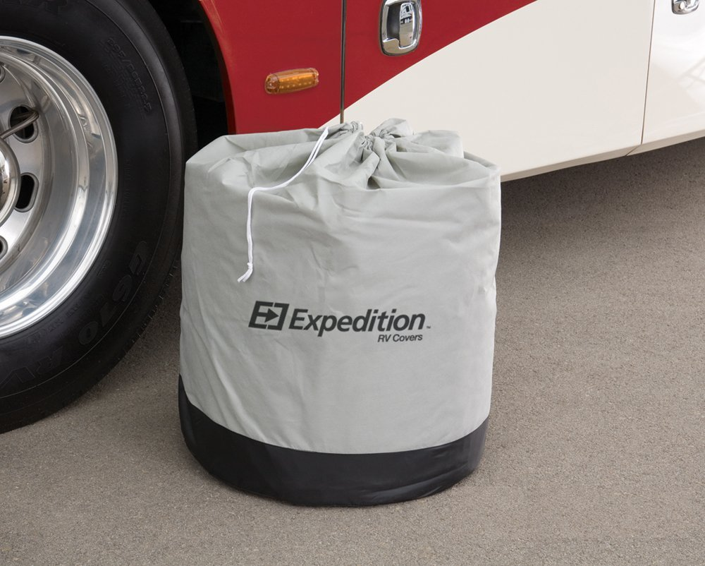 Expedition Truck Camper Covers by Eevelle - fits 10'-12' Long Trailers - 239''L x 108''W x 107''H by Expedition Truck Campers Covers